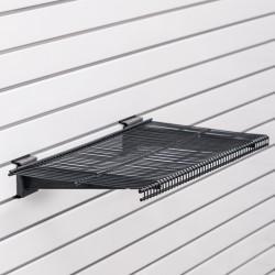 Police se dvěma nosníky 60x30 cm